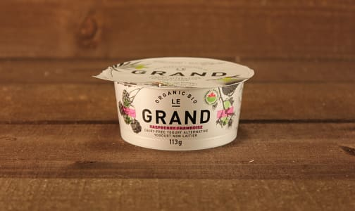 Organic Vegan Yogurt - Raspberry- Code#: DA0437