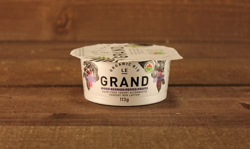 Organic Vegan Yogurt - Mixed Berry- Code#: DA0441