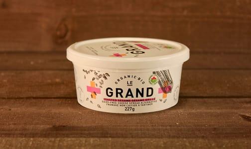 Organic Vegan Cheese Spread - Sesame- Code#: DA0443