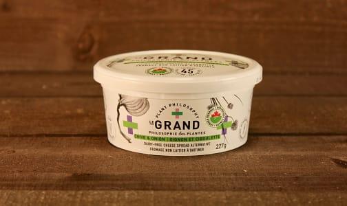 Organic Vegan Cheese Spread - Chive- Code#: DA0444