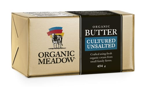 Organic Unsalted Cultured Butter- Code#: DA0583
