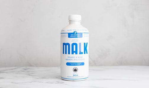 Organic Unsweetened Almond Malk- Code#: DA0587