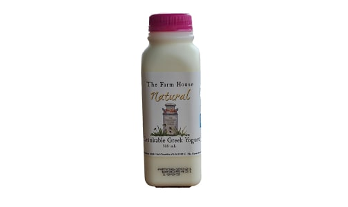 Drinkable Greek Yogurt - Natural- Code#: DA0607
