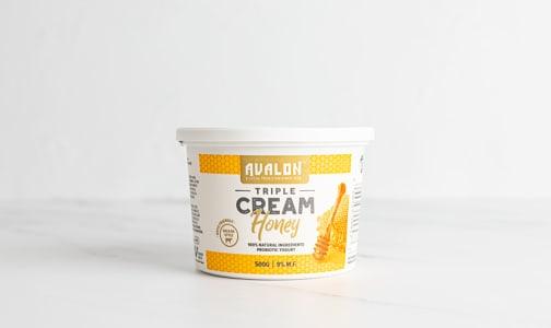 Triple Cream Yogurt, Honey- Code#: DA0632