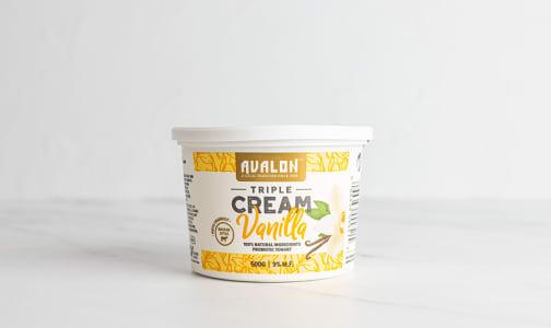 Triple Cream Yogurt, Vanilla- Code#: DA0633