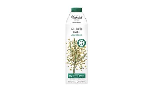 Milked Oats, Unsweetened- Code#: DA0637