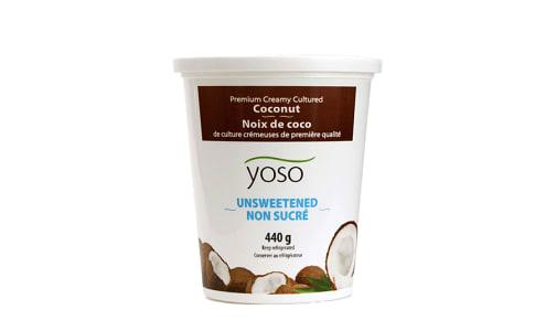 YOSO Unsweetened Premium Cultured Coconut- Code#: DA0672