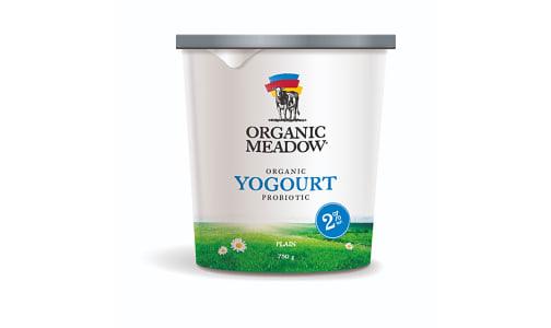 Organic 2% Plain Yogurt- Code#: DA0695