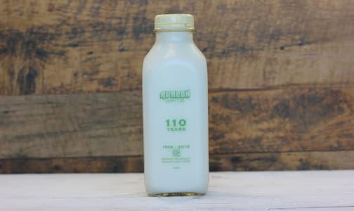 Organic 1% Milk- Code#: DA103