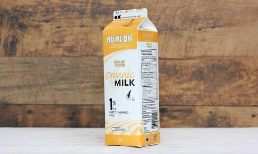 Organic 1% Milk- Code#: DA144