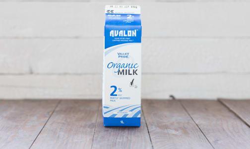 Organic 2% Milk- Code#: DA145