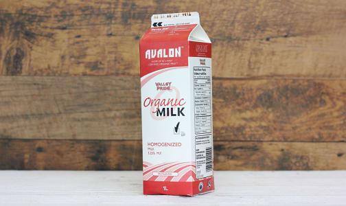 Organic Homogenized Milk- Code#: DA146