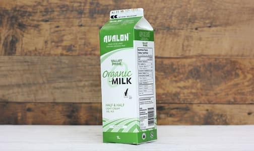 Organic Half & Half- Code#: DA150