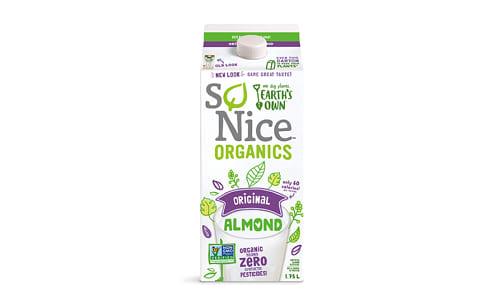 Organic Almond Beverage - Original (Carageenan free)- Code#: DA1600
