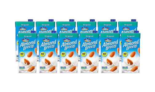 Almond Breeze, Original Beverage - CASE- Code#: DA163-CS
