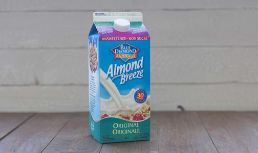 Almond Breeze Fresh, Unsweetened Original- Code#: DA1636