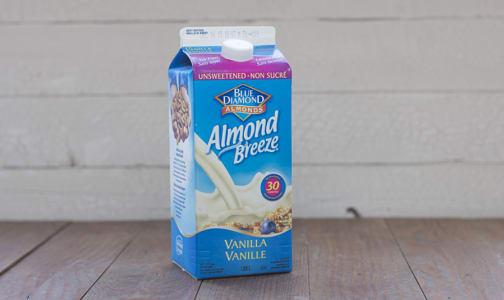 Almond Breeze Fresh, Unsweetened Vanilla- Code#: DA1637