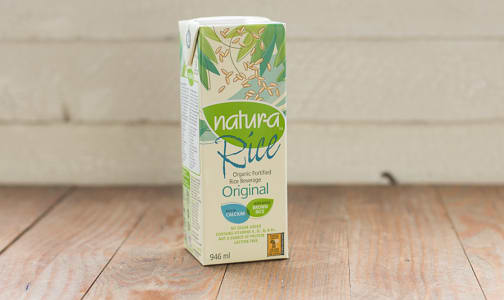 Organic Enriched Rice Beverage - Original- Code#: DA212