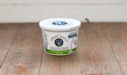 Organic Traditional Greek Style Plain Yogurt - 10% MF- Code#: DA2172