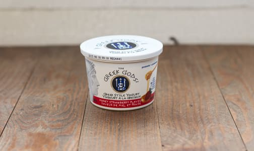 Honey Strawberry Traditional Greek Yogurt - 10% MF- Code#: DA2176