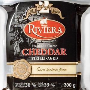 White Cheddar, 2- Year, Lactose Free- Code#: DA3002