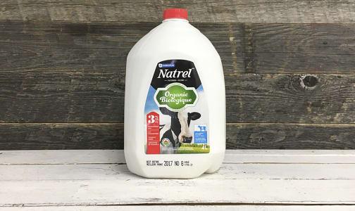 Organic 3.25% Milk- Code#: DA3192