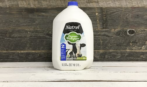 Organic 2% Milk- Code#: DA3193