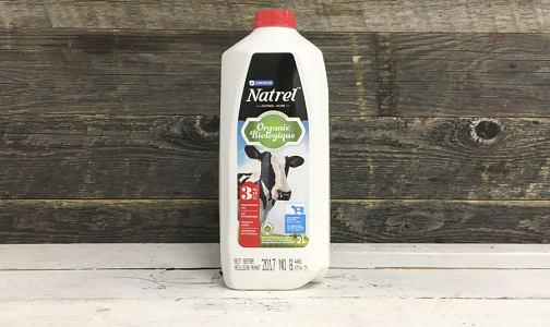 Organic 3.25% Milk- Code#: DA3196