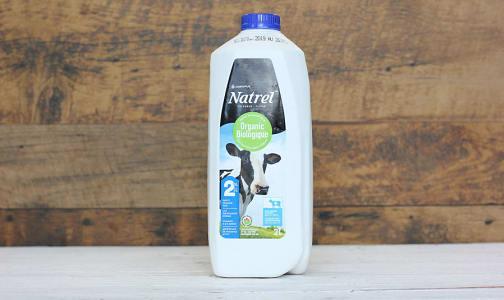Organic 2% Milk- Code#: DA3197