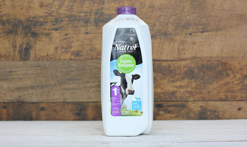 Organic 1% Milk- Code#: DA3198