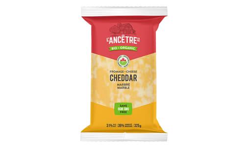 Organic Marble Cheddar Cheese- Code#: DA3200