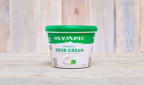 Organic Sour Cream- Code#: DA351