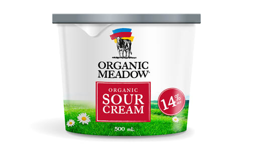 Organic Sour Cream - 14% MF- Code#: DA3521