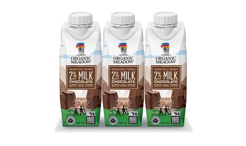 Organic 2% Chocolate UHT Milk- Code#: DA3523