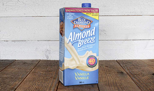Almond Breeze Unsweetened Vanilla- Code#: DA3700