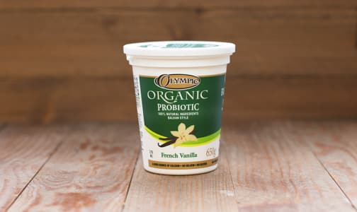 Organic French Vanilla Yogurt - 3.2% MF- Code#: DA374