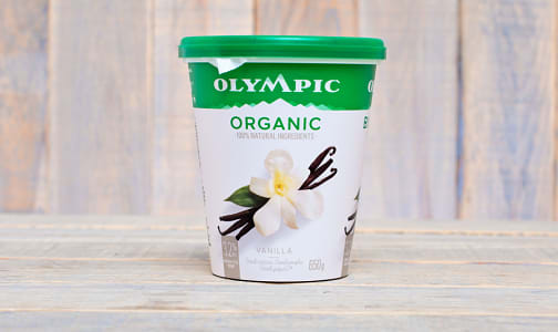 Organic French Vanilla Yogurt - 3% M.F.- Code#: DA374