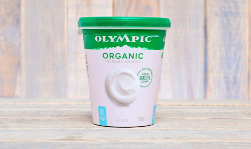 Organic Plain  Yogurt - No Fat- Code#: DA376