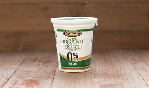 Organic Plain Yogurt - 0% MF- Code#: DA376
