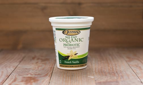 Organic French Vanilla Yogurt - 0% MF- Code#: DA377