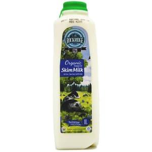 Organic Skim Jersey Cow Milk- Code#: DA3950