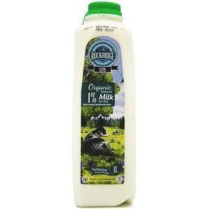 Organic 1% Jersey Cow Milk- Code#: DA3951