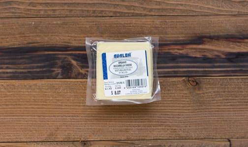 Organic Mozzarella Cheese- Code#: DA414-NV