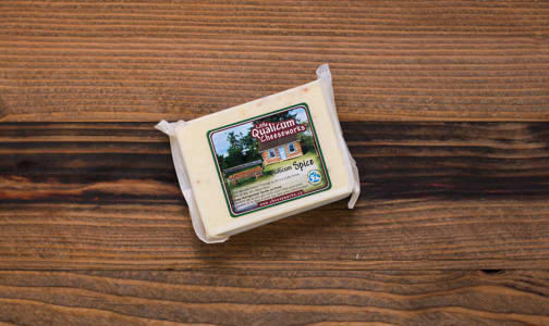 Qualicum Spice Cheese - 30% MF- Code#: DA484