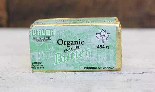 Organic Unsalted Butter- Code#: DA503