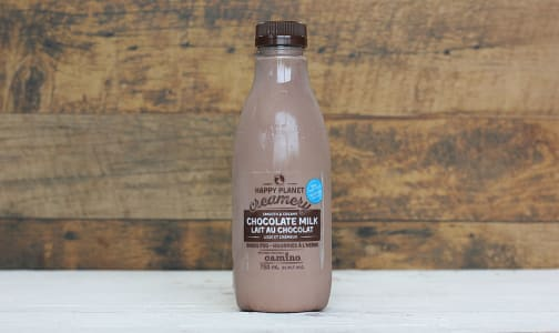 Organic Grass-Fed 2% Chocolate Milk- Code#: DA556