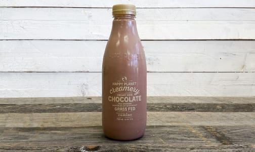 Organic Grass-Fed Dark Chocolate Milk- Code#: DA556