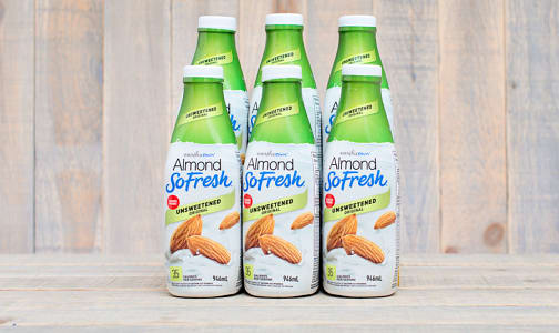 Fresh Almond Milk - Unsweetened - CASE- Code#: DA765-CS