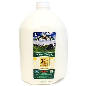 Organic Whole Milk- Code#: DA8005