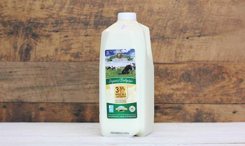 Organic Whole Milk- Code#: DA8007